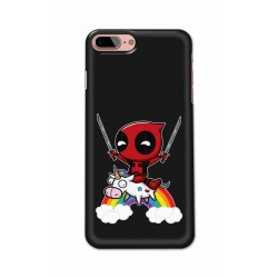 Crafting Crow Mobile Back Cover For Apple Iphone 7 Plus - Deadpool