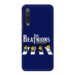 Crafting Crow Mobile Back Cover For Xiaomi Mi 9 SE - Beatles Minion