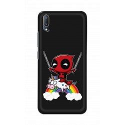 Crafting Crow Mobile Back Cover For V11 PRO - Deadpool