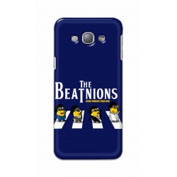 Crafting Crow Mobile Back Cover For Samsung Galaxy A8 - Beatles Minion