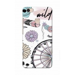 Crafting Crow Mobile Back Cover For Vivo V7 Plus - Wild