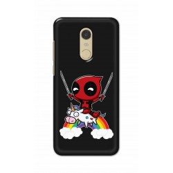 Crafting Crow Mobile Back Cover For Xiaomi Redmi Note 5 - Deadpool