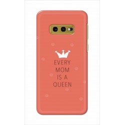 Crafting Crow Mobile Back Cover For Samsung Galaxy S10e - Mom