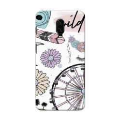 Crafting Crow Mobile Back Cover For One Plus 7 - Wild