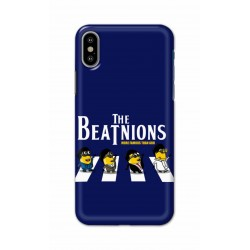 Crafting Crow Mobile Back Cover For Apple Iphone X - Beatles Minion