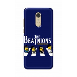 Crafting Crow Mobile Back Cover For Xiaomi Redmi Note 5 - Beatles Minion