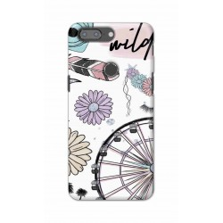 Crafting Crow Mobile Back Cover For One Plus 5t - Wild