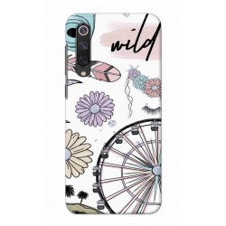 Crafting Crow Mobile Back Cover For Xiaomi Mi 9 SE - Wild