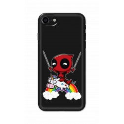 Crafting Crow Mobile Back Cover For Apple Iphone 8 - Deadpool