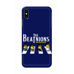 Crafting Crow Mobile Back Cover For Apple Iphone XS - Beatles Minion