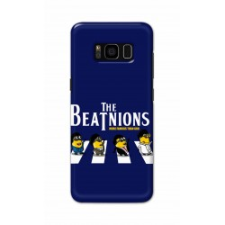 Crafting Crow Mobile Back Cover For Samsung S8 Plus - Beatles Minion