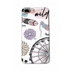 Crafting Crow Mobile Back Cover For Apple Iphone 7 Plus - Wild