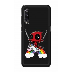 Crafting Crow Mobile Back Cover For Xiaomi Mi 9 - Deadpool