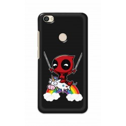 Crafting Crow Mobile Back Cover For Xiaomi Redmi Y1 - Deadpool