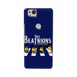 Crafting Crow Mobile Back Cover For Google Pixel 2 - Beatles Minion