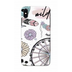 Crafting Crow Mobile Back Cover For Apple Iphone XS Max - Wild