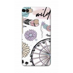 Crafting Crow Mobile Back Cover For Vivo V7 - Wild