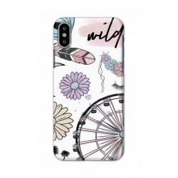 Crafting Crow Mobile Back Cover For Apple Iphone X - Wild