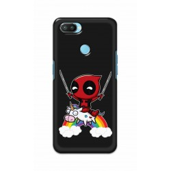 Crafting Crow Mobile Back Cover For Oppo Realme 2 Pro - Deadpool