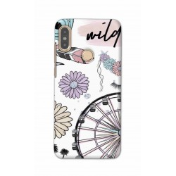 Crafting Crow Mobile Back Cover For Xiaomi Redmi Note 5 Pro - Wild