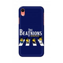 Crafting Crow Mobile Back Cover For Apple Iphone XR - Beatles Minion