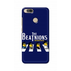Crafting Crow Mobile Back Cover For Xiaomi Mi A1 - Beatles Minion