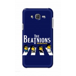 Crafting Crow Mobile Back Cover For Samsung Galaxy J7 - Beatles Minion