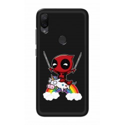Crafting Crow Mobile Back Cover For Xiaomi Mi Play - Deadpool