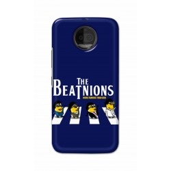 Crafting Crow Mobile Back Cover For Motorola Moto G5S Plus - Beatles Minion