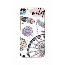 Crafting Crow Mobile Back Cover For Vivo V5 - Wild
