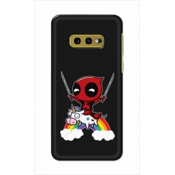 Crafting Crow Mobile Back Cover For Samsung Galaxy S10e - Deadpool