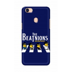 Crafting Crow Mobile Back Cover For Oppo F5 - Beatles Minion