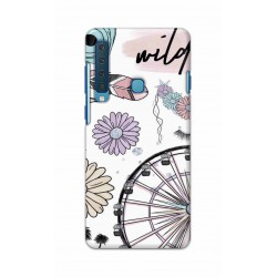 Crafting Crow Mobile Back Cover For Samsung Galaxy A9 2018 - Wild