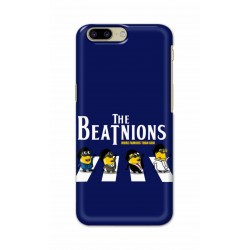 Crafting Crow Mobile Back Cover For OnePlus 5 - Beatles Minion