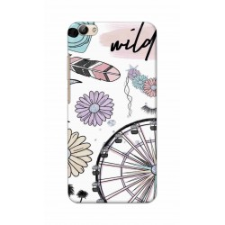 Crafting Crow Mobile Back Cover For Vivo Y66 - Wild
