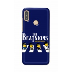 Crafting Crow Mobile Back Cover For Xiaomi Redmi Note 5 Pro - Beatles Minion