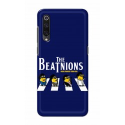 Crafting Crow Mobile Back Cover For Xiaomi Mi 9 - Beatles Minion