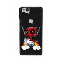 Crafting Crow Mobile Back Cover For Google Pixel 2 - Deadpool