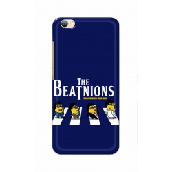 Crafting Crow Mobile Back Cover For Vivo V5s - Beatles Minion