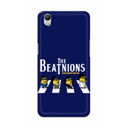 Crafting Crow Mobile Back Cover For Oppo A37 - Beatles Minion
