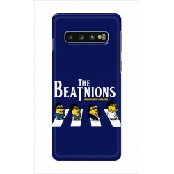 Crafting Crow Mobile Back Cover For Samsung Galaxy S10 Plus - Beatles Minion