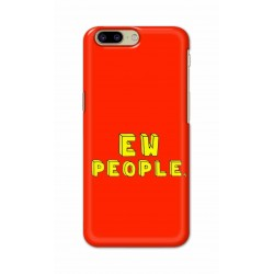 Crafting Crow Mobile Back Cover For OnePlus 5 - EW People