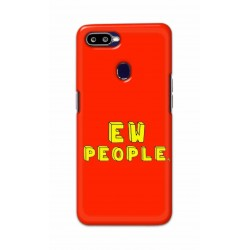 Crafting Crow Mobile Back Cover For Oppo F9 Pro - EW People