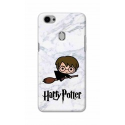 Crafting Crow Mobile Back Cover For Oppo F7 - Harry Potter