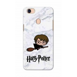 Crafting Crow Mobile Back Cover For Oppo F5 - Harry Potter