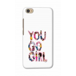 Crafting Crow Mobile Back Cover For Xiaomi Redmi Y1 Lite - You Go Girl