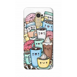 Crafting Crow Mobile Back Cover For Xiaomi Redmi Note 5 - Kawaii Coffee