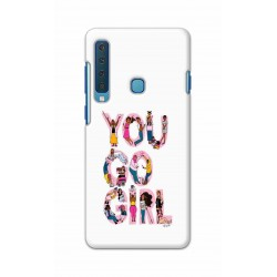 Crafting Crow Mobile Back Cover For Samsung Galaxy A9 2018 - You Go Girl