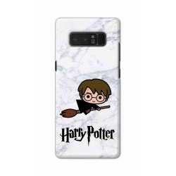 Crafting Crow Mobile Back Cover For Samsung Note 8 - Harry Potter