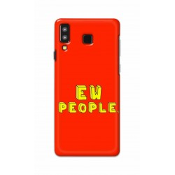 Crafting Crow Mobile Back Cover For Samsung Galaxy A8 Star - EW People
